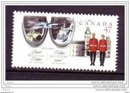 Canada, Collège Militaire, Bateau, Avion, Char D'assaut, Soldat, Boat, Plane, Horloge, Clock - Barche