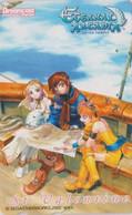 RARE Télécarte JAPON  / 110-016 - SEGA DREAMCAST - MANGA - ETERNAL ARCADIA  - JAPAN Game Phonecard - 12343 - Comics