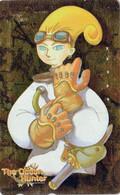 Télécarte DOREE JAPON  / 110-016 - SEGA - MANGA - THE OCEAN HUNTER - ANIME JAPAN GOLD Phonecard - 12344 - Comics