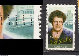 Canada, Bateau, Boat, Actrice, Actress, Cinéma, Femme, Woman, Marie Dressler, Perles, Pearls - Barche