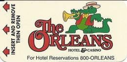 Orleans Casino - Las Vegas NV - Narrow Hotel Room Key Card - Chiavi Elettroniche Di Alberghi
