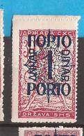 YU-SLOV-SHS 2  1920  48 I  PORTO    JUGOSLAVIA JUGOSLAWIEN  SHS SLOVENIA VERIGARI    MNH - Slovenië