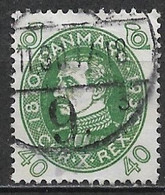 Denmark 1930. Scott #219 (U) 60th Birthday Of King Christian X - Usati