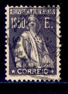 ! ! Portugal - 1923 Ceres 1$50 E - Af. 259 - Used - Usati
