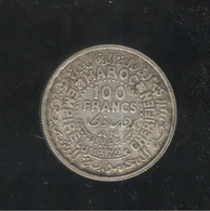 100 Francs Maroc / Moroco 1953 ( Lot 2 ) - Marocco