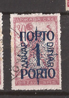 YU-SLOV-SHS 2  1920  48 I  PORTO    JUGOSLAVIA JUGOSLAWIEN  SHS SLOVENIA VERIGARI    USED - Slovenia