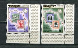 PENRHYN 1974 MI # 56 - 57 CENTENARY OF UNIVERSAL POSTAL UNION MNH - Penrhyn