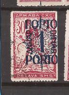 YU-SLOV-SHS 2  1920  48 I I PORTO    JUGOSLAVIA JUGOSLAWIEN  SHS SLOVENIA VERIGARI    USED - Slovenië