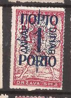 YU-SLOV-SHS 2  1920  48 I I PORTO    JUGOSLAVIA JUGOSLAWIEN  SHS SLOVENIA VERIGARI    HINGED - Slovenië