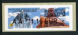 """LISA De 2020 - """"AA **1,16 EUR - LETTRE PRIORITAIRE - SALON PHILATELIQUE DE PRINTEMPS - DOLE 2020"""" - 2010-... Illustrated Franking Labels"""