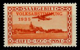 SAARGEBIET 1934 Nr 196 Ungebraucht X78B0A2 - Unused Stamps