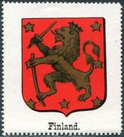 Grand Duchy Of Finland Russia Vignette ** MNH Coat Of Arms Armoiries Blason Wappen Poster Reklamemarke Finnland Finlande - Non Classificati