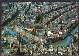Holanda - Briefkaart - Amsterdam - Panorama Centrum Met Rokin - Circa 1960 - Non Circulé - A1RR2 - Amsterdam