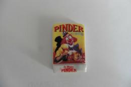 Fève Brillante En Porcelaine Le Cirque PINDER Jean Richard - Affiche Clown - RARE ! - Fèves