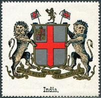 British India Vignette ** MNH Coat Of Arms Armoiries Blason Wappen Poster Reklamemarke Britisch-Indien Inde Britannique - Ohne Zuordnung
