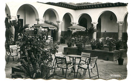 MAROC - TANGER - Patio De L'hôtel El Minzah - CPSM 9x14 Photographie Véritable - Tanger