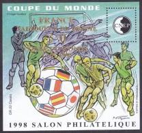 """CNEP N°  27 De 1998 Bloc """" Coupe Du Monde Surchargé - CNEP"""
