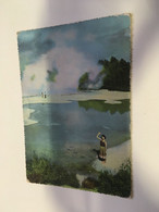 (P 12) New Zealand (older Card) - Waictapu Champagne Pool (D69) - Neuseeland