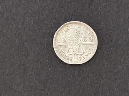 Australia 1960 Silver Threepence 3 Pence Queen Elizabeth II QEII - Moneta Pre-decimale (1910-1965)