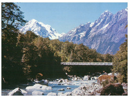 (P 14) New Zealand - Mount Tutoko - Neuseeland