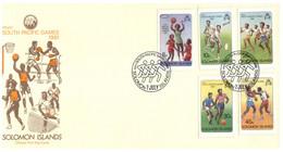 (P 15) Solomon Island (1981) FDC Cover / Premier Jour - South Pacific Games (2 Covers) - Salomoninseln (Salomonen 1978-...)