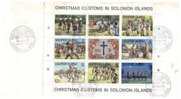 (P 15) Solomon Islands (1983) FDC Cover / Premier Jour - Christmas - Salomoninseln (Salomonen 1978-...)