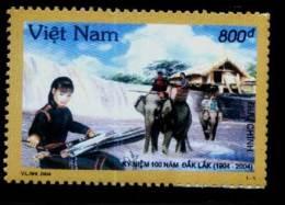 Vietnam Viet Nam MNH Stamp 2004 : Centenary Of Dak Lak Province / Music / Elephant (Ms930) - Vietnam