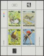 MARSHALL ISLANDS - 1990 Birds Souvenir Sheet. Scott 361a. MNH ** - Marshall Islands