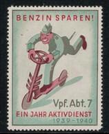 Suisse /Schweiz/Switzerland // Vignette Militaire // Verpflegung, Vpf.Abt.7 - Poste Militaire