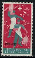Suisse /Schweiz/Switzerland // Vignette Militaire // Verpflegung, Lst.Vpf.Kp.26,27,28,29 - Poste Militaire