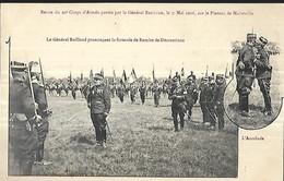 Malzéville - Revue Du 20°Corps D ' Armée Passée Par Le Général Bailloud - Manifestazioni