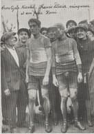 PHOTO PRESSE    DOCUMENT   17 Cm  X  12    Cm  C.D.F. De Cross. C.PELISSIER  VAINQUEUR ET SON FRERE HENRI - Wielrennen
