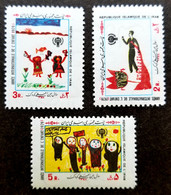 Iran International Year Of The Child 1979 Children Painting Bird (stamp) MNH - Iran