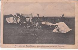 (1914-1918) - Von Unseren Kampffliegern Abgeschossenes Englisches Flugzeug - Guerra 1914-18