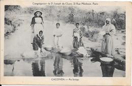 CACONDA - Au Lavage - Angola
