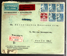 37312 -  En EXPRES Pour La France - 1913-47 (Christian X)