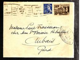 37314 - Censure  Pour Le GARD - Poststempel (Briefe)