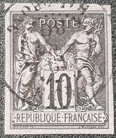 """Colonies Française """"SAGE"""" N° 40  Avec Oblitération Cachet à Date Centrale  TTB - Sage"""