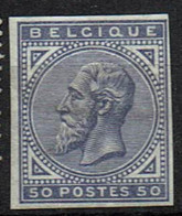 41  * Forte  Non Dentelé - 1883 Leopold II