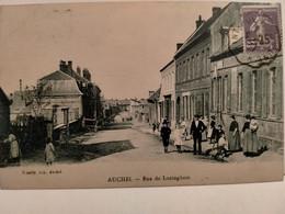 Carte Postale Ancienne -  AUCHEL  - Rue De Lozinghem - Sonstige Gemeinden