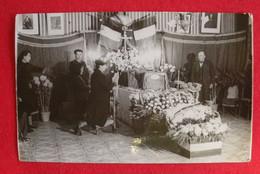 34 Alignan Du Vent Béziers Servian Photo Format Cpa Chapelle Ardente TB Animée éditeur Simonet Dos Scanné - Autres Communes