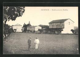 CPA Fayence, Etablissement Tardieu - Fayence