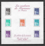 FRANCE - Yvert Bloc N° 41 ** LES COULEURS DE MARIANNE - Neufs