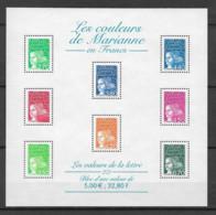 FRANCE - Yvert Bloc N° 43 ** LES COULEURS DE MARIANNE - Neufs