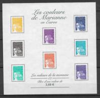 FRANCE - Yvert Bloc N° 44 ** LES COULEURS DE MARIANNE - Neufs
