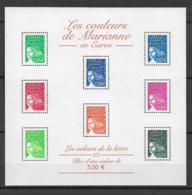 FRANCE - Yvert Bloc N° 45 ** LES COULEURS DE MARIANNE - Neufs