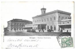 Bologna Stazione Ferroviaria La Gare Cachets - Bologna
