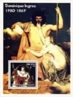GUINEA 2002 - D. Ingres: Zeus, Napoleon - Mi B748; CV=11 € - Desnudos