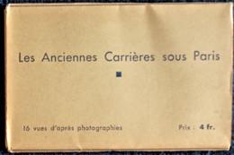 Les Anciennes Carrières Sous Paris - 16 Vues . - Autres
