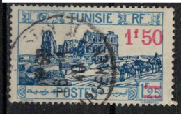 TUNISIE        N°  YVERT :    146  ( 1 )     OBLITERE       ( OB   9 / 15 ) - Gebruikt